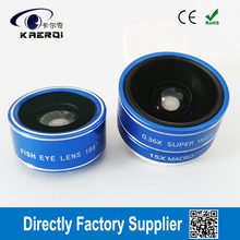 Wholesale 3 in 1 wide angle camera lens for mobile phone