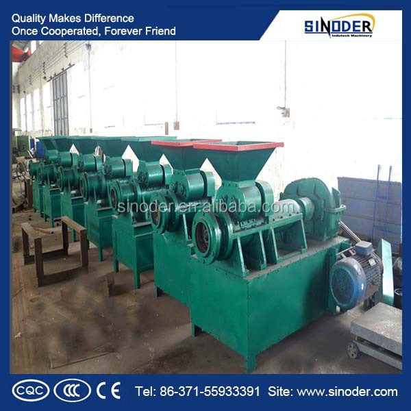 coal briquette machine , lime powder briquette machine with ISO certificated