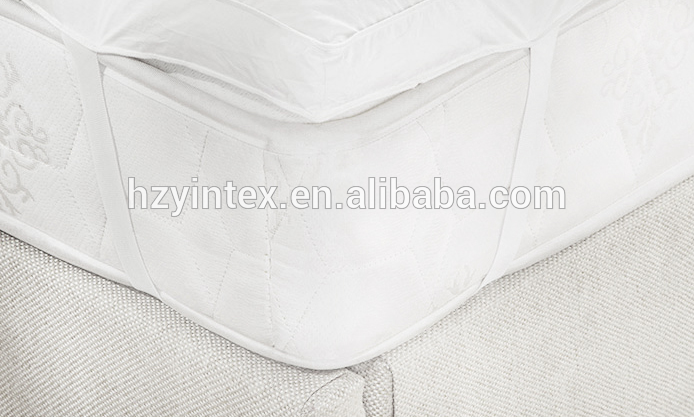 Top Sale white quilted style printed down filling soft mattress topper - Jozy Mattress | Jozy.net