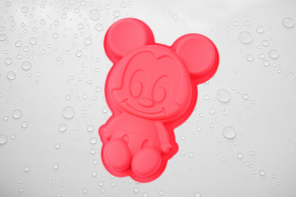 mickey mouse of silicone cake mold
