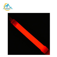 MSDS proved 6 inch red glow sticks customized logo printed glow sticks