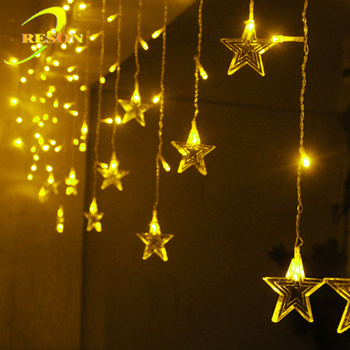Star LED decorative lights Ramadan and Eid party stuff decoration