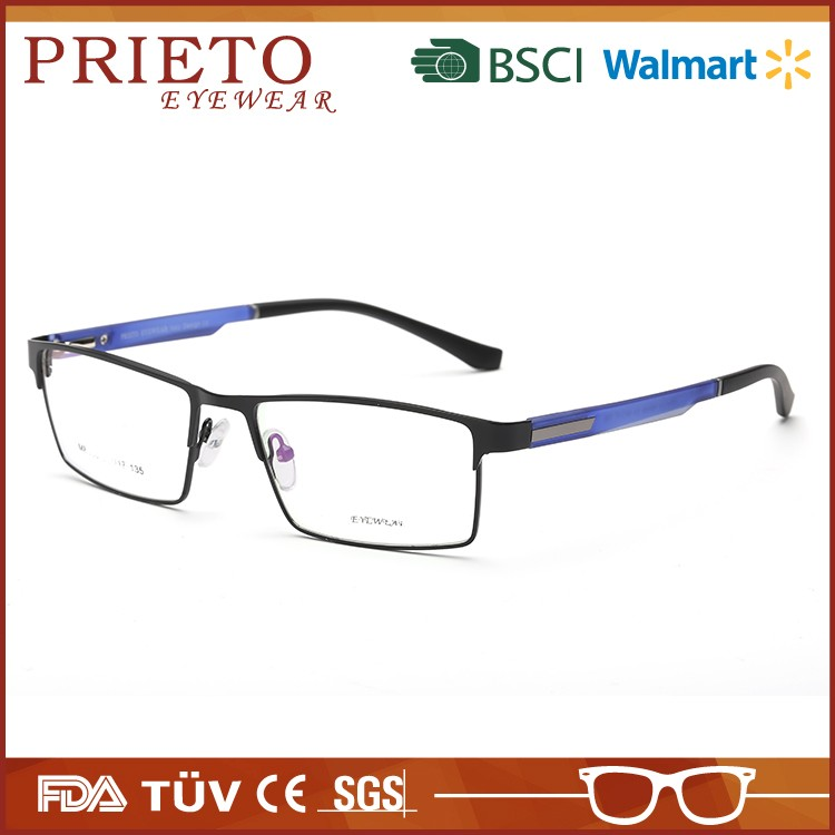 New Model hot-sale light metal eyewear optical frame with high quality