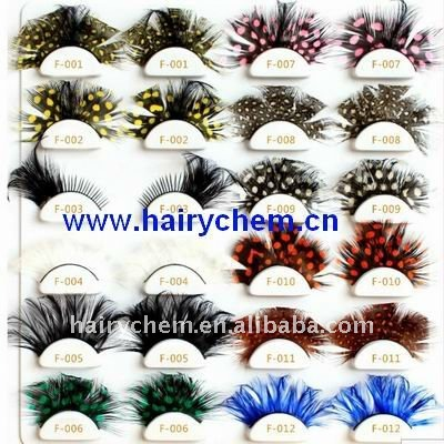 factory fantasy feather false eyelashes wholesale,Paypal