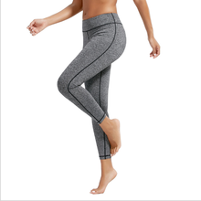 S170033 Yoga Clothing Summer Women's Sports Yoga Pants Running Elastic Stretch Tight Waist Pants