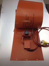 silicone rubber heater oil drum heater with didital temperature controler
