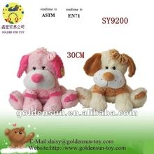Hot inquiry new design sitting dog stuffed toys