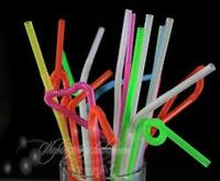 artistic colored plastic straw,different shaped hard plastic drinking straws