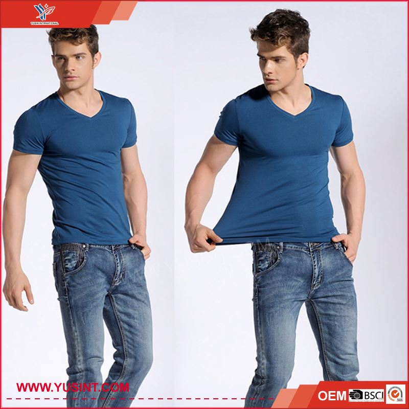 Sell well new type 100% egyptian cotton blank t-shirt