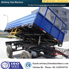 Top quality CE tractor hydraulic cylinder dump trailer for sale