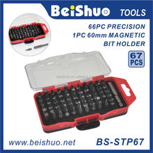 67pcs Portable screwdriver bit set