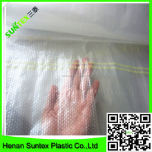 Woven Fabric Composite PE Film 85 gsm,clear woven film for greenhouse