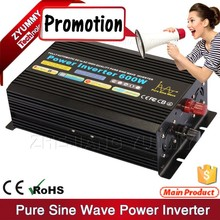 Yiwu Made quality Pure sine wave power inverter dc 12v ac 220v 600 Watt 1000 Watt 1200 watt 1500watt to 3000watt for you choose