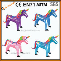 inflatable unicorn toys , inflate animal toys