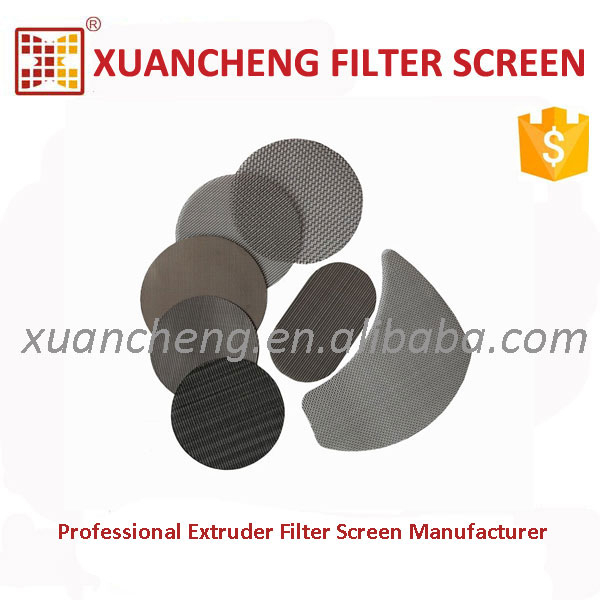 Piece Type Ultra Filter Screen Wire Stainless Steel Fine Mesh