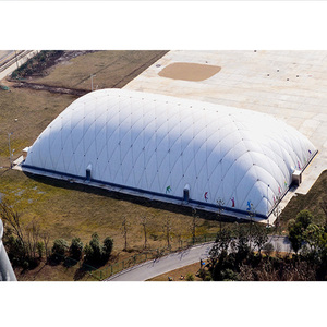 long-span giant inflatable pool dome tent/swimming pool tents/ tennis court air dome prices