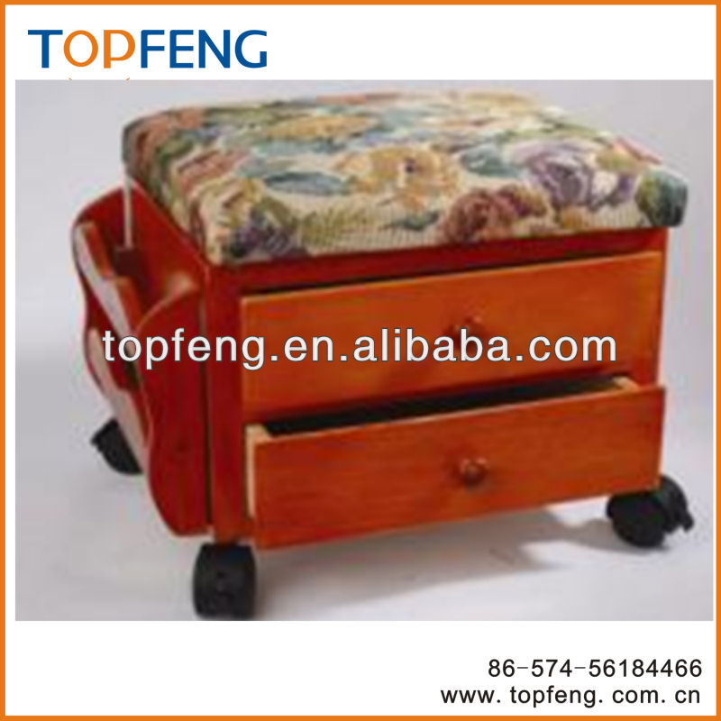 wooden foot rest wooden stool with wheels stool with drawer