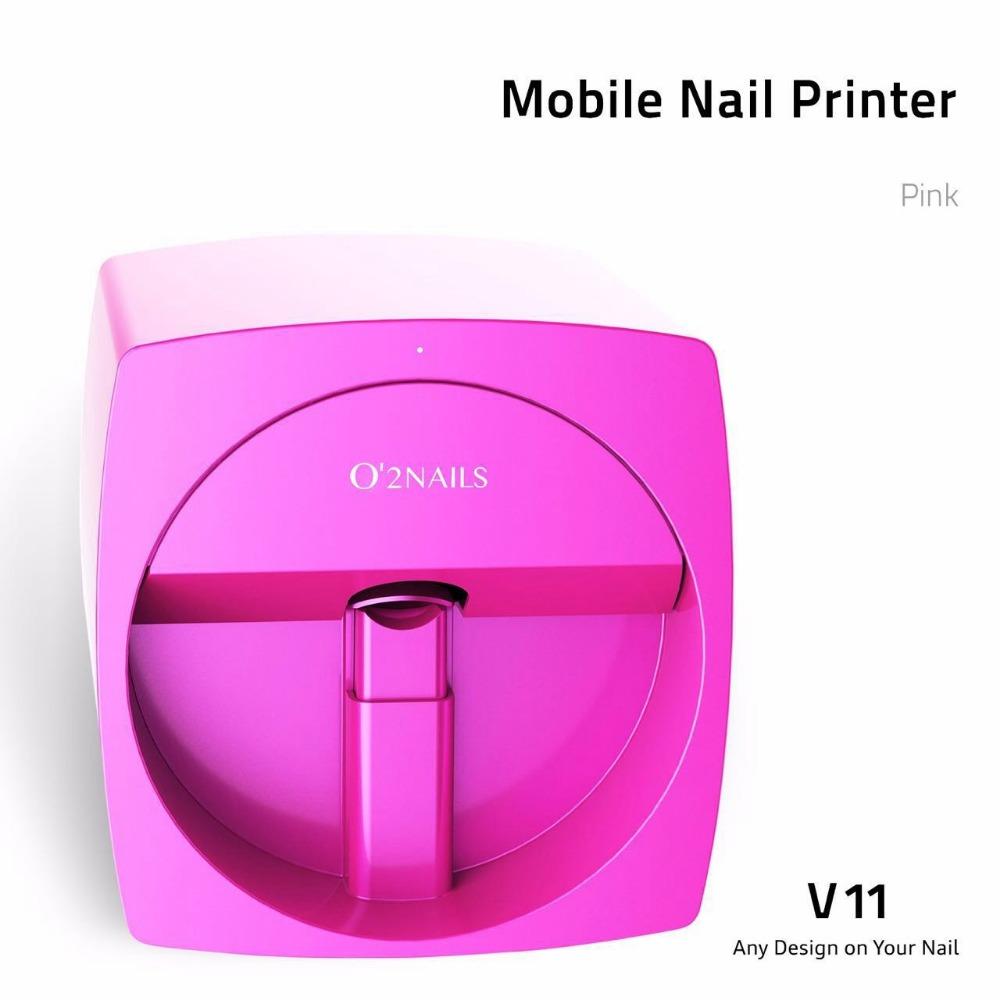 O\'2nails Digital Mobile Nail Art Printer V11- Portable Nail Painting ...