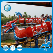 China new fun slide dragon amusement backyard roller coasters for sale