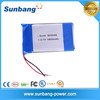 Factory directly selling 3.7v rechargeable 1800mah 063048 li-polymer batteries with PCB protected