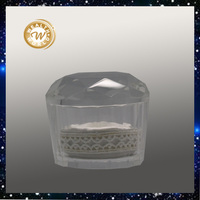 Crystal jewelry box for wedding gift,home decoration