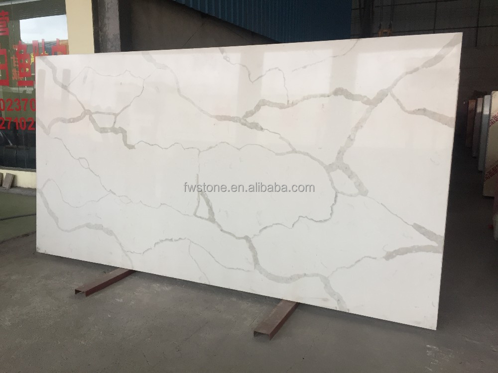 3.2*1.6m foshan wholesale sparkle white quartzite slabs