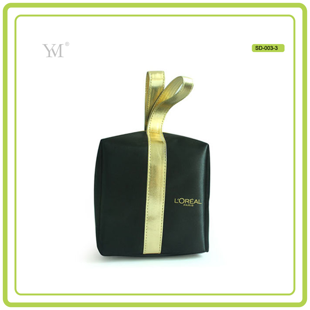 best price special design satin ladies fashion mini cosmetic bag