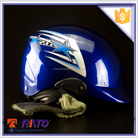 high performance blue open-face motorcycle helmet wholesale