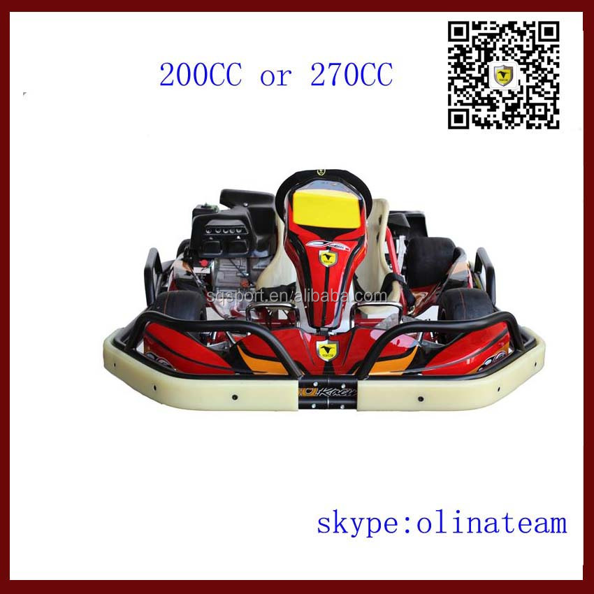 4 stroke 4 wheel racing adult go kart with engine for hot sale