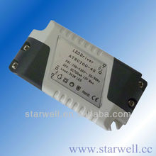 7w 350ma constant current led driver with high power factor external driver