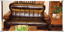 2015 new beauty top quality heated leather sofa