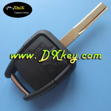 Shock price plastic key cover 2 button for opel car key opel key blank with High security blade