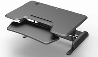 OEM acceptable LED LCD sitting to standing up desks for Asia market