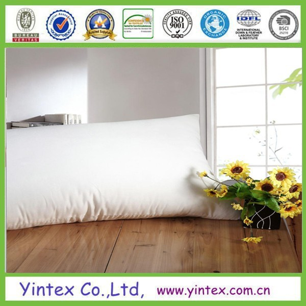 Economic microfiber polyfiber pillow for hotels and resorts