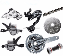 bicycle derailleur parts 9-Speed bike bicycle derailleur Group Sets 7 in 1 for MTB
