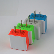 Wholesale Candy Color Charging USB Wall Home Travel Ac Power Charger For Iphone6 6splus For Android Smart Phone
