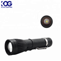 Specialty custom Rechargeable zoom flashlight fast charge COB+LED torch