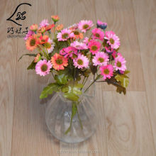 Home decoration high quality 7 fork artificial daisy flowers