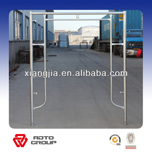 quick packaged aluminum working platform frame scaffolding with wheel
