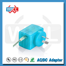 Blue color Linear Power Supply 5v 2a usb power adapter with Australia plug