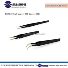 MECHANIC high-quality SMD Stainless Steel tweezers for mobile repair tools for wholesale