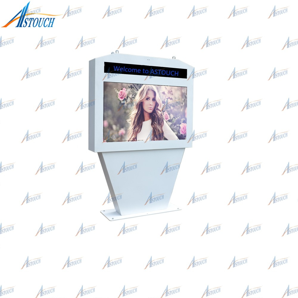 42 55 65 70 82 84 Inch Lcd Floor Stand Outdoor Digital Signage price Discount
