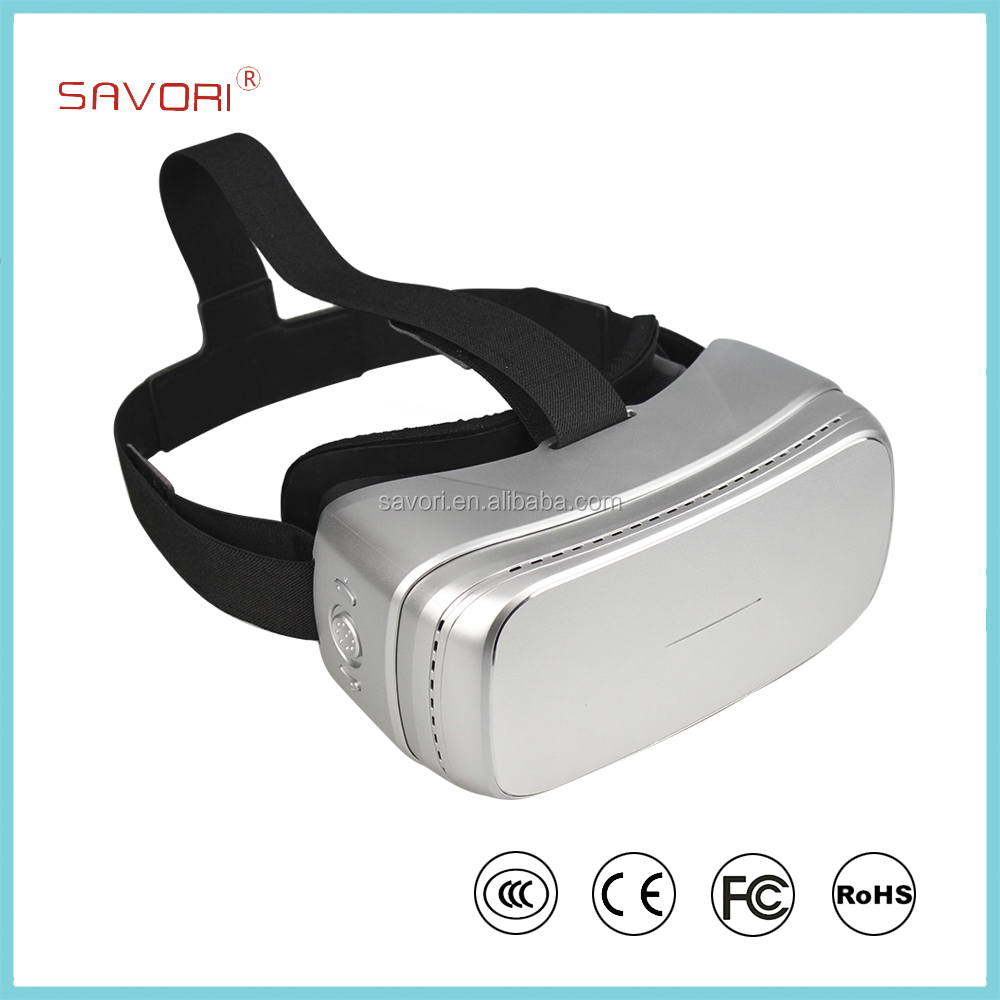 Savori 2016 All In One Virtual Reality, Large Screen with Wi-Fi smart VR Headset