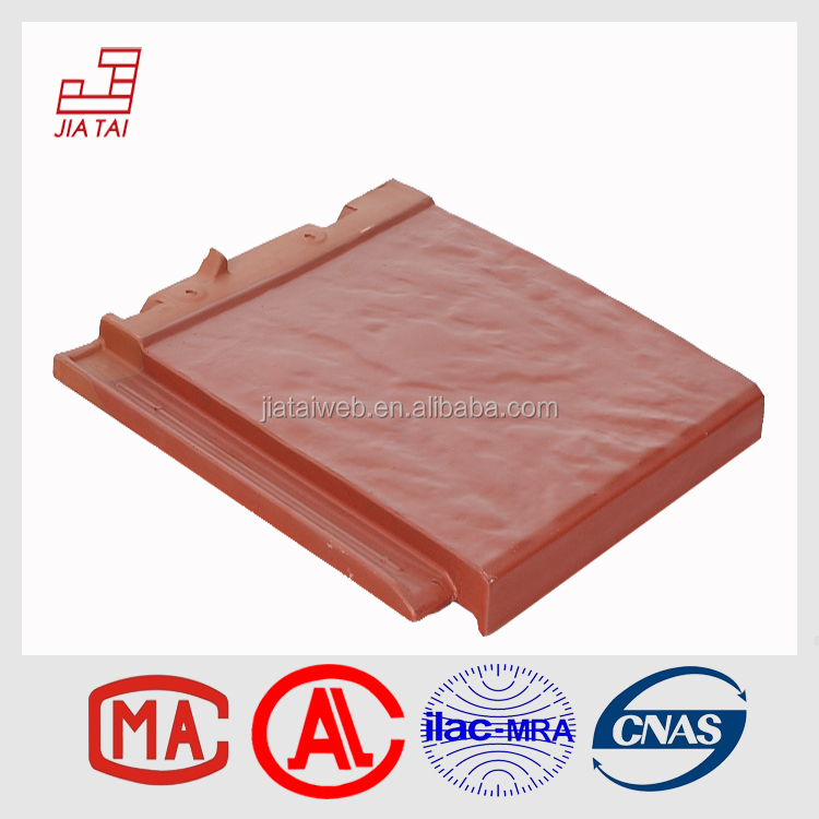 FS-822 Chinese export green building materials plain flat clay roofing tiles