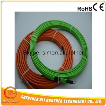 220V 12MM 35W/M 105 C Degree Freeze Protection Self Regulate Heating Cable For Water Pipe