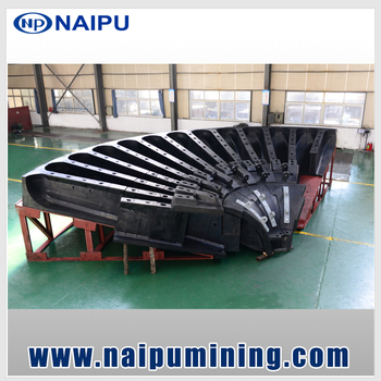 Naipu High Quality Wear-resistant Rubber Ball Mill Liners
