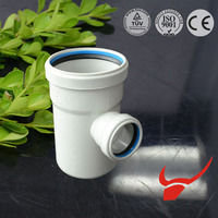 hot sale in russian china manufacture best selling upvc pipe fittings rubber ring joint