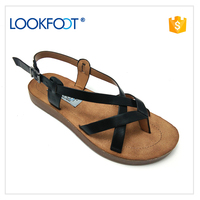 China fashion flat summer sandals 2017 for women new design