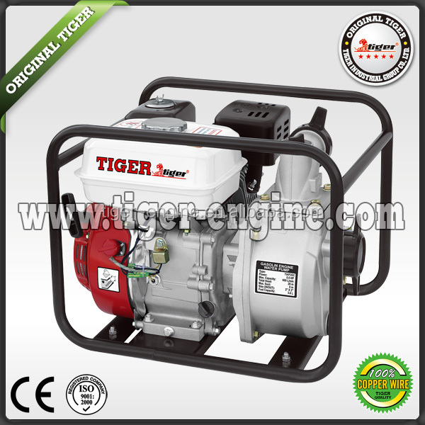TIGER gasoline water pump 3.0/2.0 inch 5.5/6.5HP