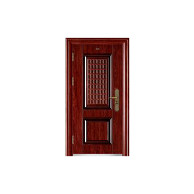 China Security Entry Main Interior Stainless Steel Door design,titanium alloy door-SC-89